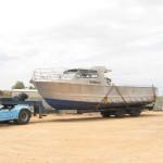 36-boat-transport-Aluminium-work-boat-Port-Lincoln-SA-to-Mossman-QLD