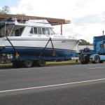 36-boat-transport-Fairway-Flybridge-Hastings-VIC-to-Manly-QLD